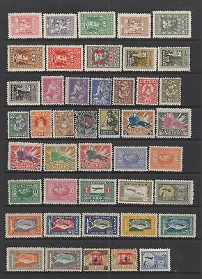 Lithuania 1920-1922 collection , 58 stamps.