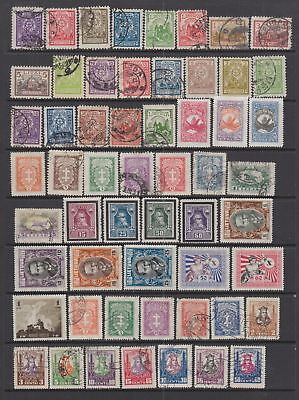 Lithuania 1923-1940 collection , 120   stamps.