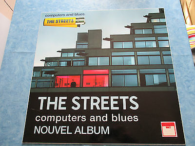 "THE STREETS ""COMPUTERS and BLUES "" MUSIQUE music PLV 50X50CM COLLECTOR no disque"