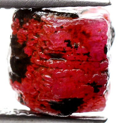 UNHEATED! 9.30ct NATURAL100% UNHEATED RUBY ROUGH SPECIMEN NR!