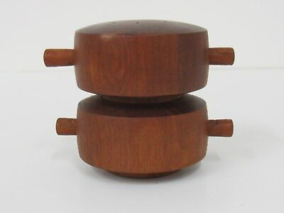 Danish Modern Quistgaard Denmark Dansk Salt and Pepper Mill Teak #1