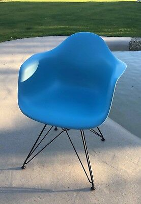 Eames Plastic Armchair, Charles & Ray Eames, VITRA, sehr guter Zustand Ocean