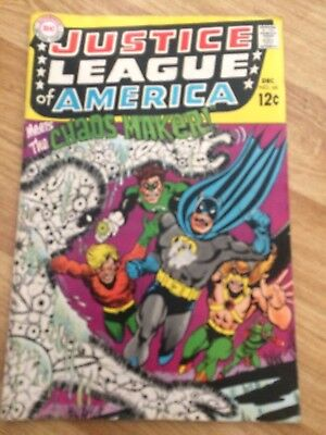Justice League of America #68 DC 1968 Silver Age Comic
