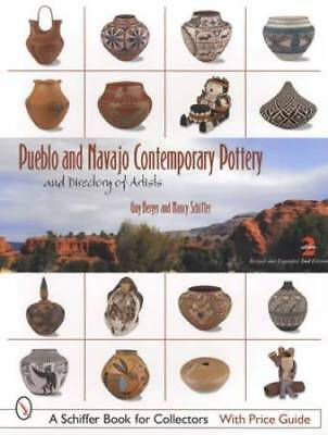 Native American Indian Pottery ID$ by Pueblo, Hopi, Zuni & Navajo - Modern Era