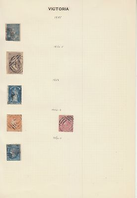 Victoria State collection on 6  pages