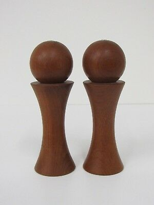 Danish Nissen Modern Quistgaard Denmark Dansk Salt and Pepper Mill Teak #8