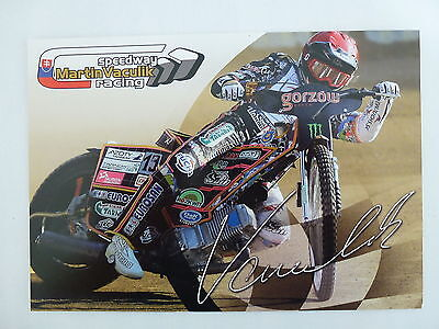 Martin Vaculik Speedway Grand Prix Official 2015 Photocard