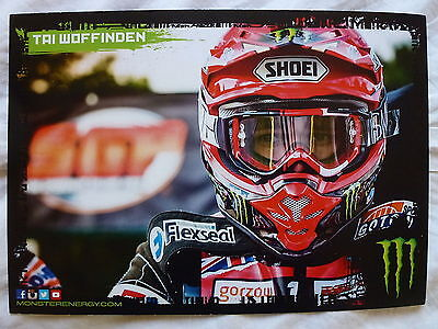 Tai Woffinden Speedway Grand Prix Official 2015 Photocard