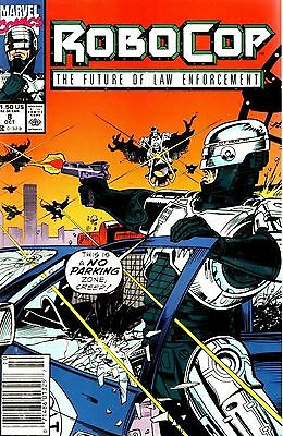 Marvel Comics Robocop Gangbuster! Vol 1 No 8 October 1990 7791E