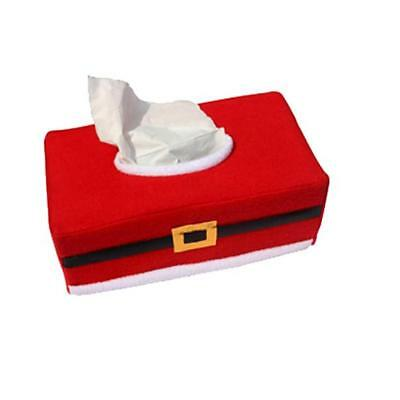 Tissue Box Cover Bags Decoration Home Party Santa Claus