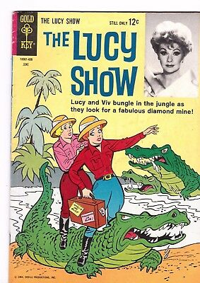 The Lucy Show  # 5  1964   Gold Key Tv Comic