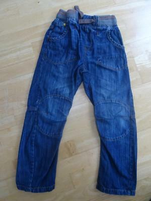 NEXT boys blue denim elastic waist jeans AGE 9 YEARS EXCELLENT COND