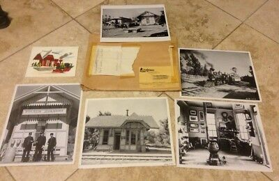 Disney's Ward Kimball Grizzly Flats Photos, Artwork, Envelope N/R 1950's N/R