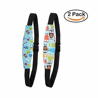 LLOP 2Pcs Infants Baby Sleeping Head Support and Toddler Car Seat Neck Relief...