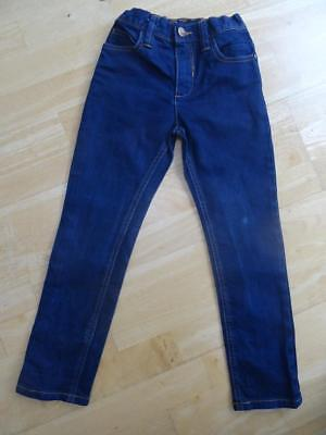 NEXT boys dark blue denim skinny fit regular fit jeans AGE 6 YEARS VERY GOOD