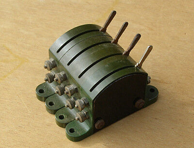 Vintage Hornby Dublo 2/3 Rail G3 Switches For Colour Light Signals, A Bank Of 4.
