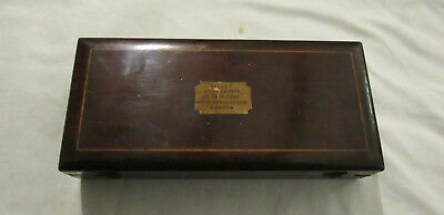 Antique Sikes Hydrometer by Josh Long London boxed with 2 slide rules 19thC