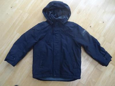 TIMBERLAND boys navy blue hooded padded jacket coat AGE 6 YEARS EXCELLENT