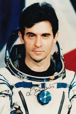 French astronaut Leopold EYHARTS signed photo