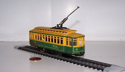HO Scale: AHM RSO Trolley P. T. C. #4 Lot S17-9
