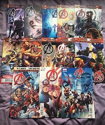 Avengers issues 35-44+variants SIGNED (Hickman/Walker/Cheung/Deodato/Caselli)