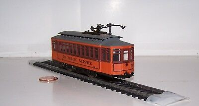 HO Scale: AHM RSO Trolley #70 Public Service Lot S17-10