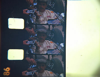 Standard 8mm Home Movie - Graham Hill Signing Autographs