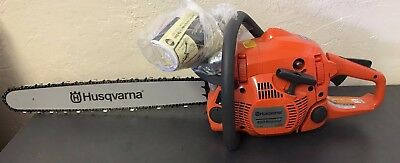 "NEW!! Husqvarna 450 RANCHER  X-TORQ Chainsaw 20"" bar 50.2CC"