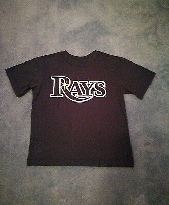 Tampa Bay Rays Genuine MLB T-Shirt.7-8yrs. No 2 Upton. Very Good Condition.