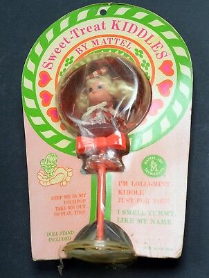 Kiddles Doll-Sweet Treet Lolli Mint-Mint Carded-Mattel-1967-RCKD