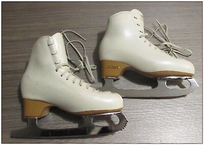 Edea Overture Skating Boots, Size 255=Uk5 Approx, With Mk 21 Blades. +Bag+Guards