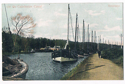Inverness The Caledonian Canal -  C.1910 - By M. Wane & Co Of Edinburgh