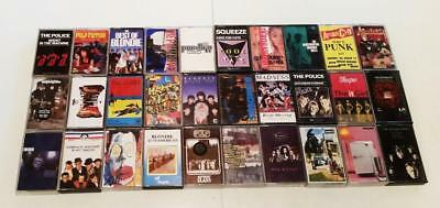 Indie / Punk / New Wave Job Lot Cassettes Oasis,pistols,nirvana,maness,clash,etc