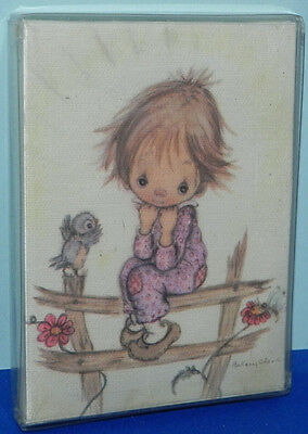 Vintage Betsey Clark Hallmark Miniature Gallery Canvas Print Thoughts of You