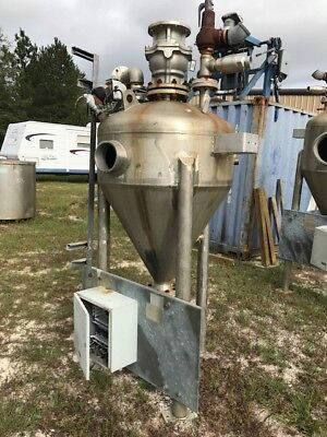 55 Gallon Deep Cone Stainless Steel Tank On Legs Mfg By Arrow Processing Equipme