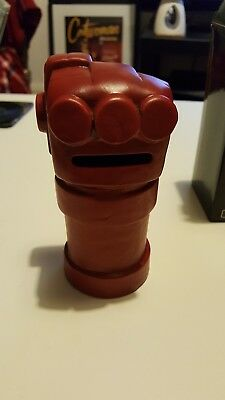 Hellboy right hand of doom ceramic money bank (Lootcrate exclusive)