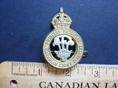 Canadian WWII, PPCLI Cap Badge