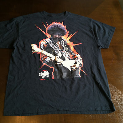 Rare Jimi Hendrix Experience Radio Days t shirt medium m