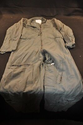Coveralls Flyer's Summer Fire Resistant 40S Flight Suit CWU-27/P Sage Green A91