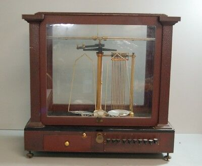 Antique Wm Ainsworth & Sons 7957 Type TC Precision Balance Scale