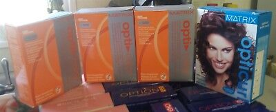 Matrix Opti Curl Color Extra Body & Color-Treated Hair Perm Lot Of 4