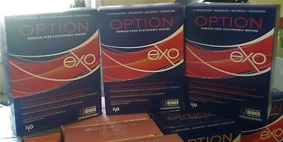 OPTION EXO and OPTION 3 PERM KIT EXTRA FIRM CURL OR LONGER & RESISTANT LOT OF 3