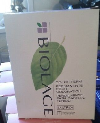 Matrix Biolage Color Perm Kit Factory Sealed  One Only! Hard To Find!