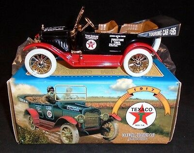 Ertl 1917 Texaco Maxwell Touring Car Collectors Series 14 1997 Bank