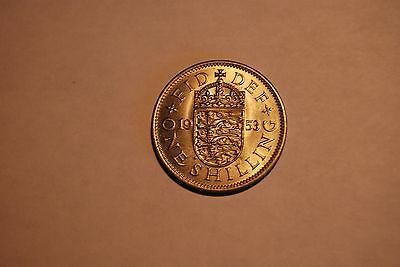 Great Britain 1953 HIGH GRADE Shilling