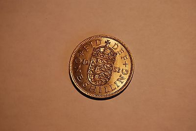Great Britain 1953 HIGH GRADE Shilling #2