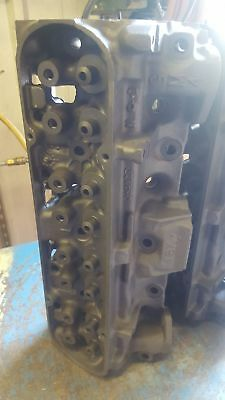 Pontiac 6X 4 cylinder heads 92cc large valves 2.11/1.66 with valves guideplates