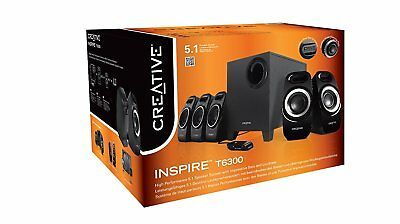 CREATIVE INSPIRE T6300 5.1 Surround Sound Speakers PC DSE IFP 51MF4115AA008