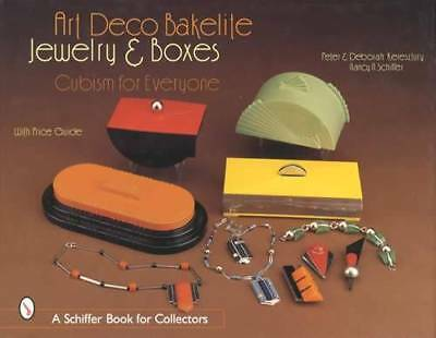 Vintage Art Deco Bakelite Jewelry & Boxes: Cubism - Collector ID$ Guide