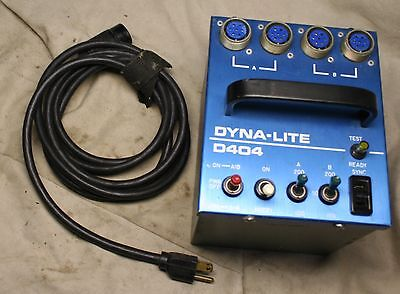 Dyna-Lite Dynalite 400WS power pack All Working Perfect W/ Cords
